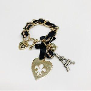 Betsey Johnson Paris Charm Bracelet